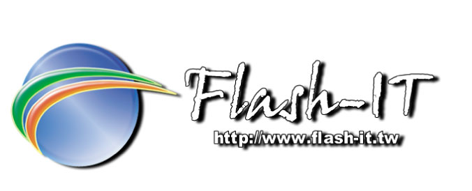 Flash it logo
